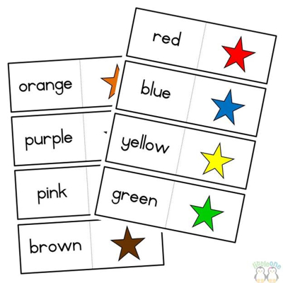 Picture of Colour matching cards