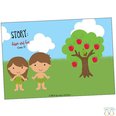 Picture of Story Props: Adam and Eve