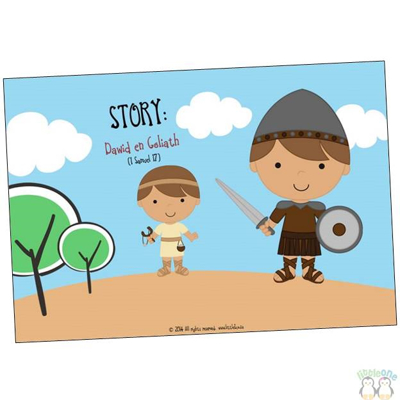 Picture of Story Props: David and Goliath