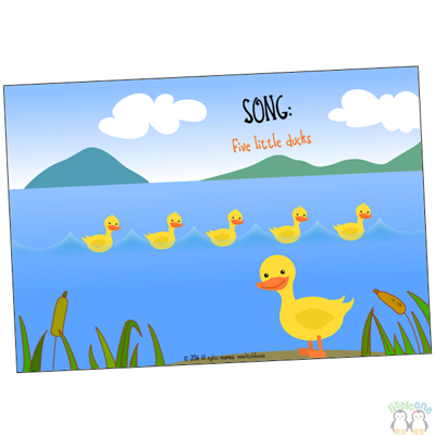 Picture of Song Props: Five little ducks