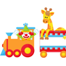 Picture of Train Birthday banner for class [Jan-Dec]