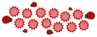 Picture of Ladybugs+Flowers Birthday banner for class [Jan-Dec]