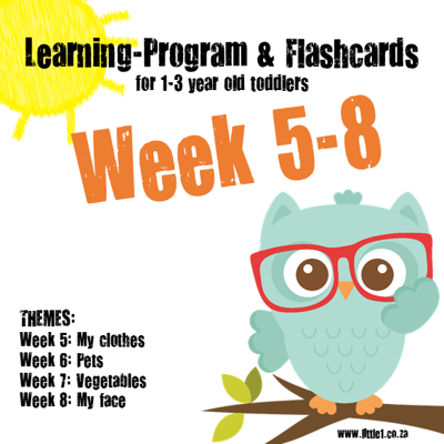 Picture of Learning Program & Flashcards Week 5-8