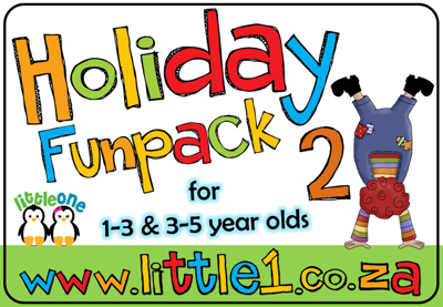 Picture of Holiday Funpack #2 for 1-3 & 3-5 year olds {ELECTRONIC}