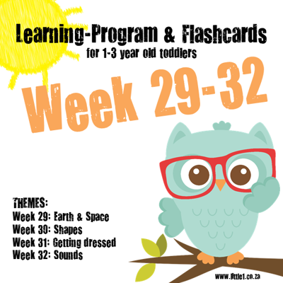 Picture of Learning Program & Flashcards Week 29-32