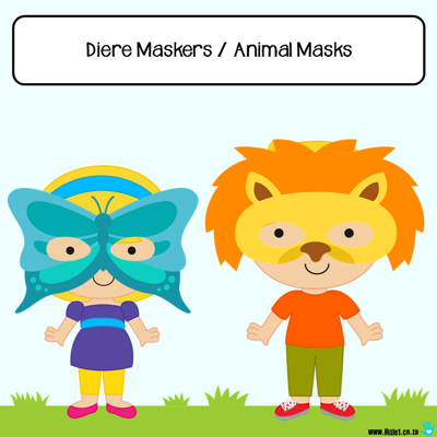 Picture of Diere Maskers / Animal Masks