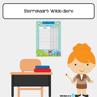 Picture of Sterrekaart {A3}: Wilde Diere
