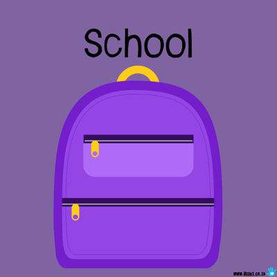 Picture of Theme Activity Book (10) - School
