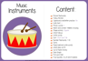 Picture of Theme Activity Book (14) - Music Instruments