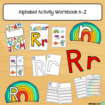 Picture of Workbook - Alphabet {A-Z}