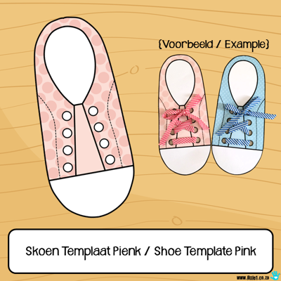 Picture of Skoen Templaat Pienk / Shoe Template Pink