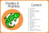 Picture of Theme Activity Book (20) - Reptiles & Amphibians