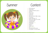 Picture of Theme Activity Book (25) - Summer