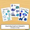 Picture of Flitskaarte & Muurkaarte {Kleur Skakerings} met prentjies