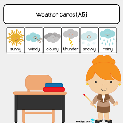 Picture of Weather Cards {A5}