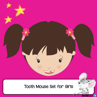 Picture of Tooth Mouse Letter Set for Girls