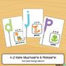 Picture of Flitskaarte & Muurkaarte {Alfabet Klanke} - Pastelkleurige Ballonne