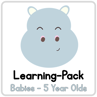 Picture of Learning Pack for babies-5 year olds