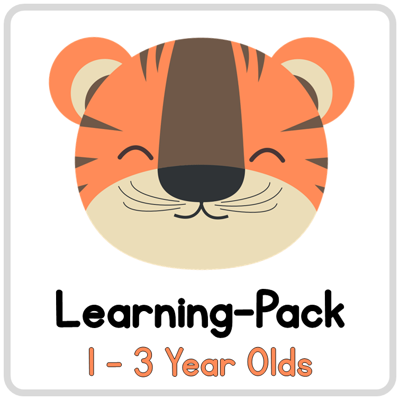 Picture of Learning Pack for 1-3 year olds
