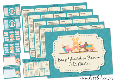 Picture of Baby Stimulation Program for 0-12 Months