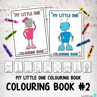 Picture of My Little One Colouring Book #2 with 50 words