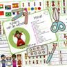Picture of Tema Aktiwiteitsboekie (17) - Kinders van die wêreld