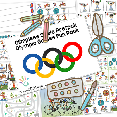 Picture of Olimpiese Spele / Olympic Games Pretpak