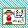 Picture of 🆕 DOEN & LEER aktiwiteite 👧🏼👦🏻 2-3 Jariges (1)