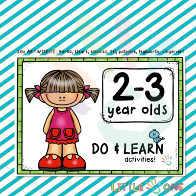 Picture of 🆕 DO & LEARN activities 👧🏼👦🏻 2-3 Year olds